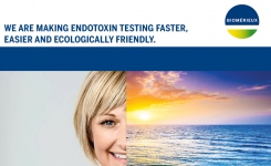 endotoxin testing now faster, easier and ecologically friendly