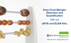 Allergen Testing in Foods - qPCR and ELISA Kits