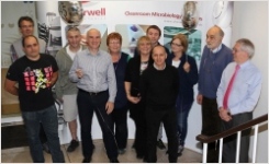 Cherwell celebrates at Pharmig