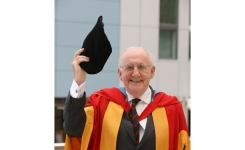 Don Whitley Receives Honourary Doctorate in 2009