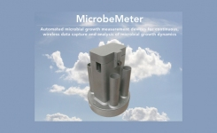 MicrobeMeter for growth dynamic experiments