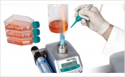 Safety Bunsen Burner for Microbiology Labs