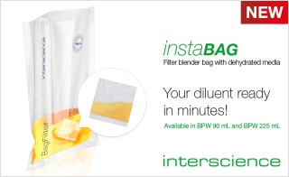 INTERSCIENCE Introduces New Bag for Easy Media Prep and Blending