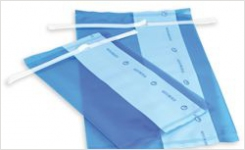 Labplas sterile blue sample bags for food