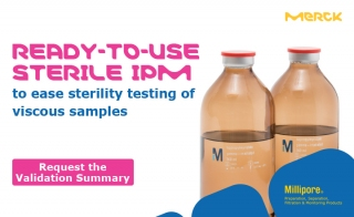 Straightforward Sterility Testing of your Viscous Samples with RTU Sterile IPM
