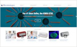 Microbiologics New Website