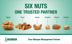 Screen for any one or a combination of six tree nut allergens