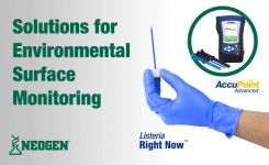 Neogen solution's for environmental surface monitoring