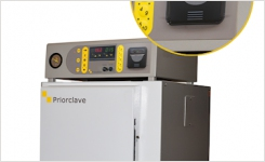 thermal printer on Priorclave autoclave range