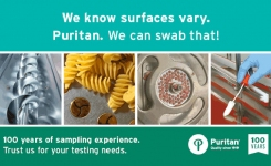 Puritan have 100 years of sampling expertise