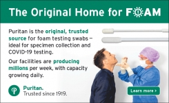 Puritan is the original trusted source for foam testing swabs