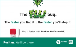 Flu Season Ahead Stock up on Specimen Collection Swabs from Puritan