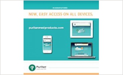 Puritan Medical Products Launches New Mobile-Ready Website
