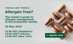 Romer Allergen Workshop