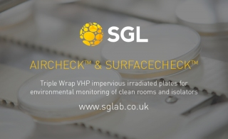 SGL Aircheck sup reg sup amp Surfacecheck sup reg sup High Quality Culture Media for Environmental Monitoring